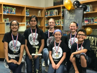 Battle of the Books 2017-2018 Team