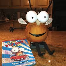 Book Character Pumpkin